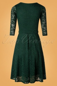 Vintage Chic Green Lace Dress 102 40 26930 20181018 003W