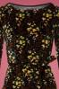 King Louie Betty Dress Wonderland in Black 25377 20180621 0003c