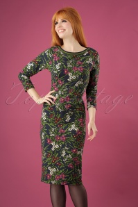 King Louie Tallulah Dress in Astoria Floral Print 25378 20180802 01W