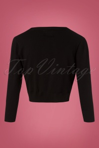 Banned Pussy Bow Top Knit Black 26463 20180713 0004W