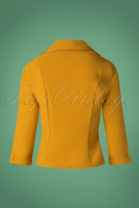 Banned Retro Mustard Janine Blouse 112 80 26704 20181018 007W