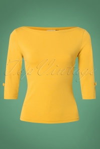 Banned Oonagh Basic Top in Mustard 26250 20180718 0002W