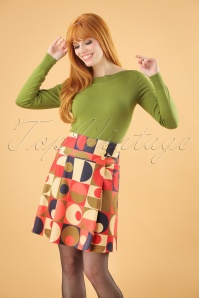 Banned Geo Circles Skirt 26164 20180718 0001W