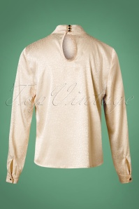 Banned Natalie Blouse in Cream 26219 20180713 0006W