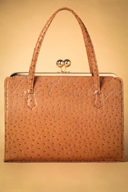 Vixen Tan 40s Style Handbag 211 70 25683 20181016 034W