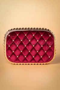Vixen Burgundy Gold Clutch 212 27 25678 20181016 002W