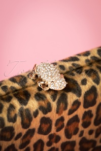 Vixen Brown Leopard Diamond Frog Clutch 210 79 25679 20181016 008W