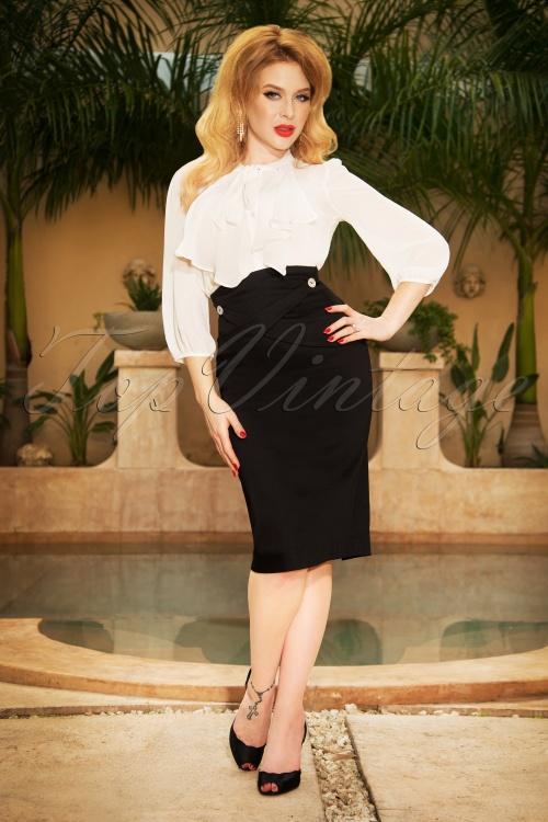 Vintage Diva Adelaide Pencil Skirt   20180618 0017W