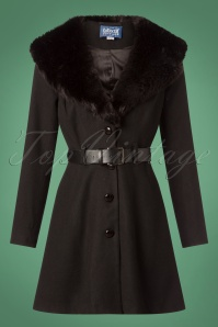 Collectif Clothing Skylar Coat in Black 152 10 24781 20180704 003W