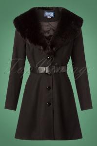 Collectif Clothing Skylar Coat in Black 152 10 24781 20180704 003W