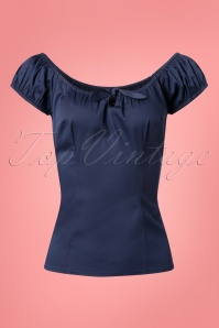Collectif Clothing Lorena Plain Top 110 31 25635 20180629 004W