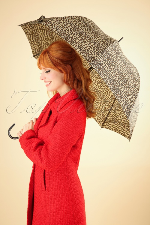Collectif Lacy Leopard Umbrella 270 59 25564 20181003 0002W