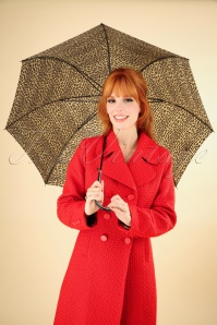Collectif Lacy Leopard Umbrella 270 59 25564 20181003 0001W