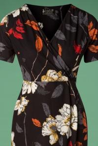 Lady Vintage Sarong Autumn Pencil Dress 100 14 28062 20181019 043V