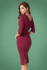 Unique Vintage Lucinda Wiggle Dress 100 20 27681 2