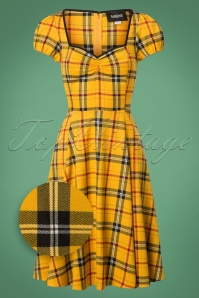 Collectif Clothing Mimi Clueless Check Doll Dress 24806 20180627 0006Z