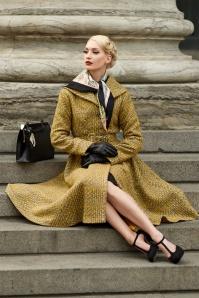 Miss Candyfloss Yellow Grey Coat 152 80 26330 001