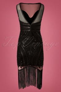 Stella Morgan Black Flapper Dress 28296 20181019 041W