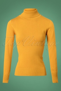 Bright and Beautiful Tova Knitted Jumper in Yellow 25500 20180629 0002W