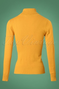 Bright and Beautiful Tova Knitted Jumper in Yellow 25500 20180629 0007W