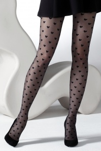 Gipsy Heart Tights Black 171 14 28271 20140523 0001