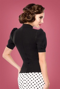 Bellissima Jersey Blouse in Black 112 10 28383 2