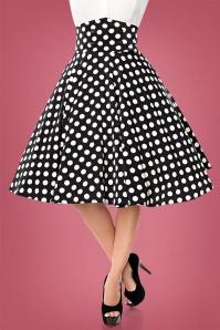 Bellissima Polkadot Swing Skirt 28385 1