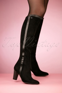 Tamaris Black Boots 440 10 25791 10242018 003W