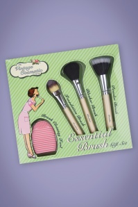 The Vintage Cosmetic Company Essential Make-Up Brush Gift Set