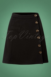 60s Beatrice Skirt in Black