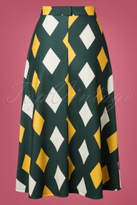Banned Retro Green 60s Diamond Dress 122 49 26163 20181025 006w