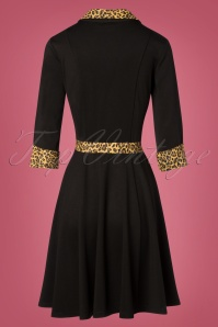 Banned Retro Leopard Black RocknRoll Dress 102 10 26142 20181025 008W