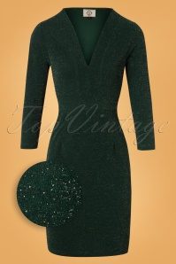 Banned Green Glitter Pencil Dress 26466 20180718 0002Z