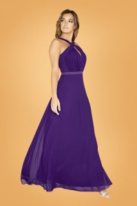 Little Mistress Purple Maxi Dress 108 60 26431 02