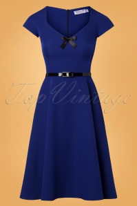 Vintage Chic Zinfandel With Belt And Bow Dress 102 20 26388 20181025 010W