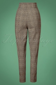 Collectif Clothing Thea Check Trousers 131 14 27502 20180627 0020W