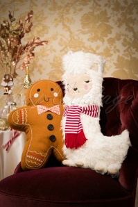 Sass and Belle Ginger Bread Man Pillow 290 70 27779 10232018 002W