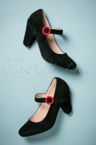 Lulu Hun 50s Marianne High Heel Pumps in Black
