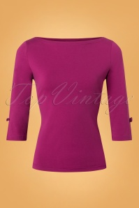 Banned Oonagh Basic Top in Purple 26251 20180718 0002W