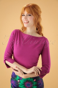 Banned Oonagh Basic Top in Purple 26251 20180718 000W