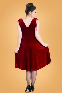 Bunny Red Melina Dress 102 20 25846 03