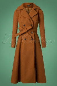 Bright And Beautiful Camel Caron Plain Coat 152 52 25496 20181031 016W