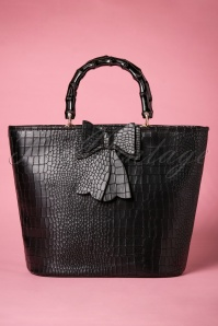 50s Brunei Handbag in Black