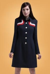 Marmalade Navy Coat 152 31 26279 02bkg