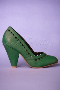Bettie Page Shoes Green Marjorie 400 40 25797 20181018 0073W
