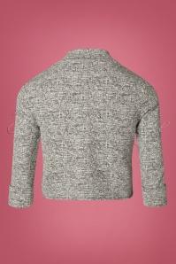 Vintage Chic Grey  Jacket Tweed 153 19 27799 20181031 030W