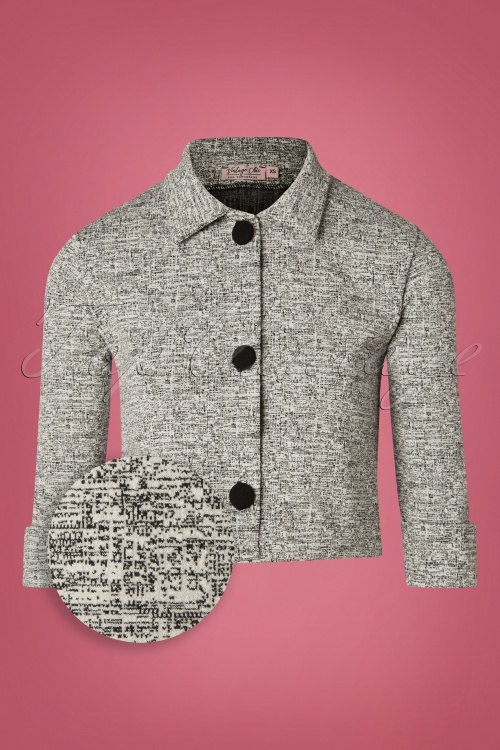 Vintage Chic Grey  Jacket Tweed 153 19 27799 20181031 011Z