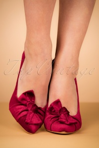 Parodi Passion Bordeaux Heels Veluto 400 20 26274 10242018 007W