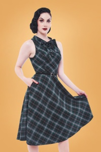 Rebel Love Clothing Green Highlander Dress 102 49 27524 02