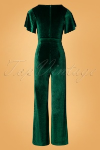 Rebel Love Clothing Green Velvet Jumpsuit 133 40 27529 20181031 021W